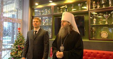 Vestnikkladez.ru -Архангельская епархия и федерация хоккея с мячом