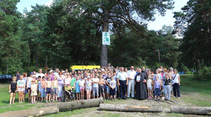 XII епархиальный экологический слет православной молодежи
