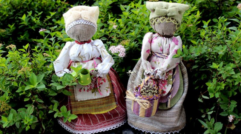 выставка текстильных кукол