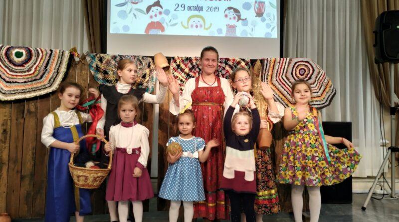 Детский фольклорный ансамбль «Жаворонушки»
