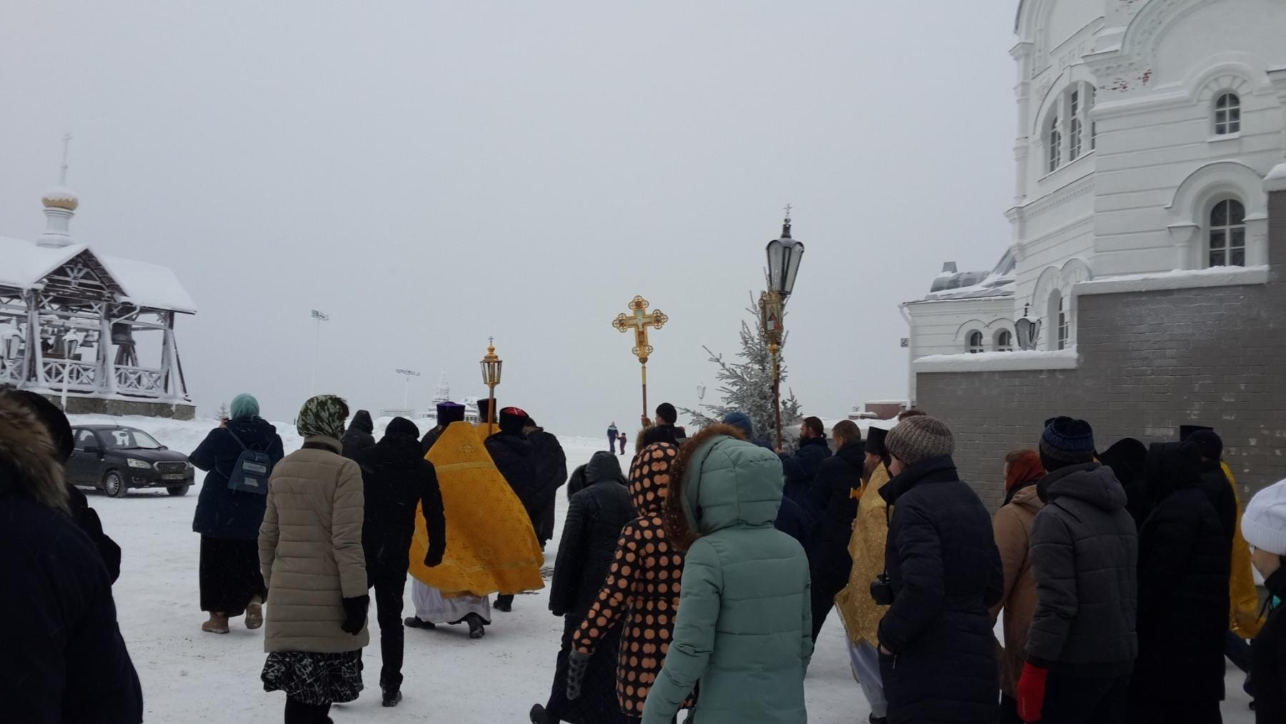 2019. ЗИМНИЙ СЛЕТ ПРАВОСЛАВНОЙ МОЛОДЕЖИ НА БЕЛОЙ ГОРЕ