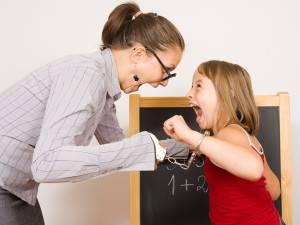 Конфликты ребёнка и учителя
