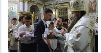 http://vestnikkladez.ru - крещение в православных семьях Нижегородской епархии